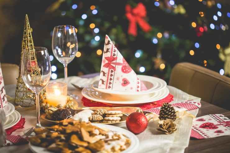 blur bokeh candle christmas decoration